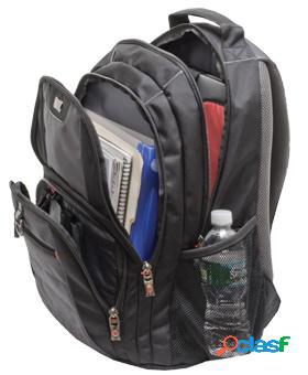 Wenger/swissgear mochila pillar de nílon para laptop 16'', negro