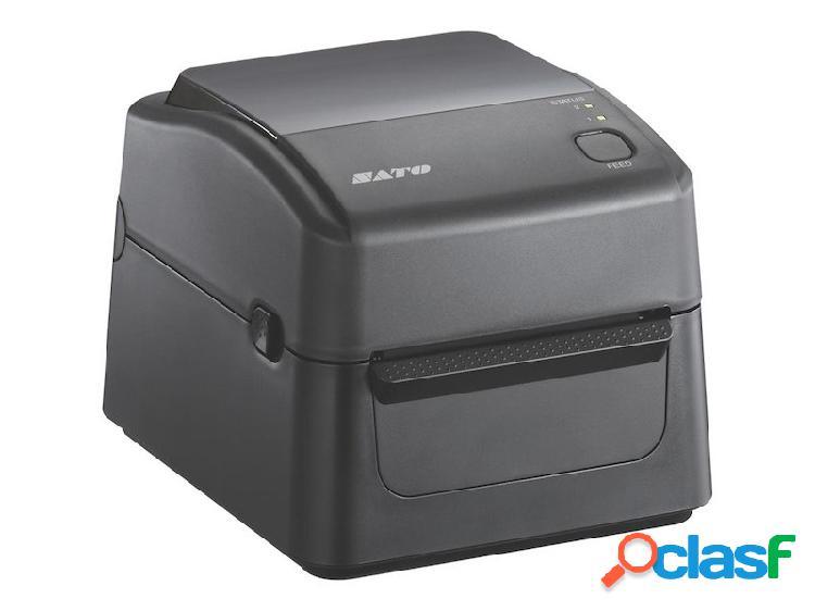 Sato ws408, impresora de etiquetas, transferencia térmica, 203 x 203dpi, usb 2.0, negro