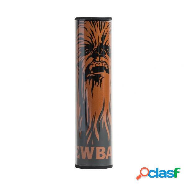 Cargador portátil tribe pb007302, 2600mah, usb, star wars chewbacca