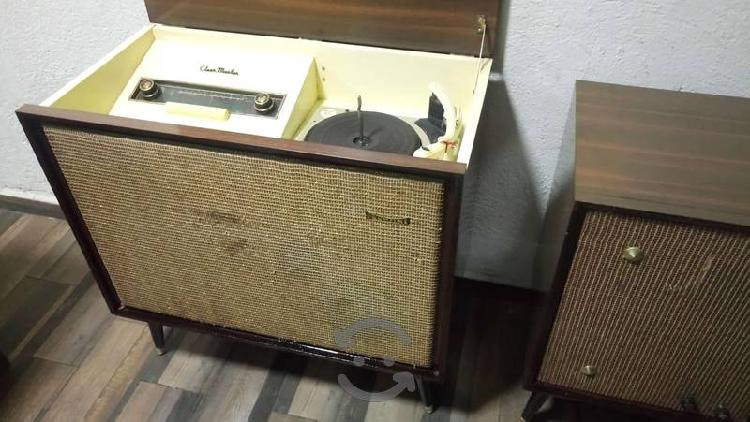 Antigua radio consola bulbos+ampli.clearmaster 60s