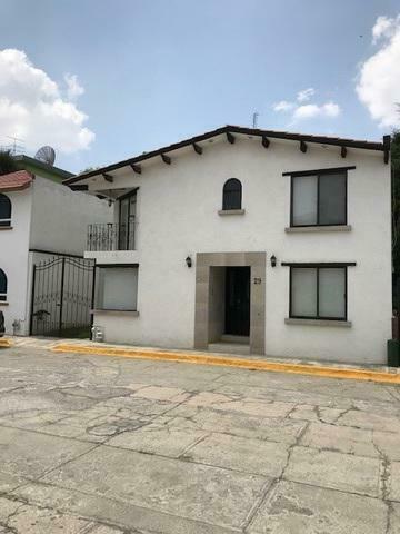 Casa en renta amueblada en metepec, fraccionamiento citlalli