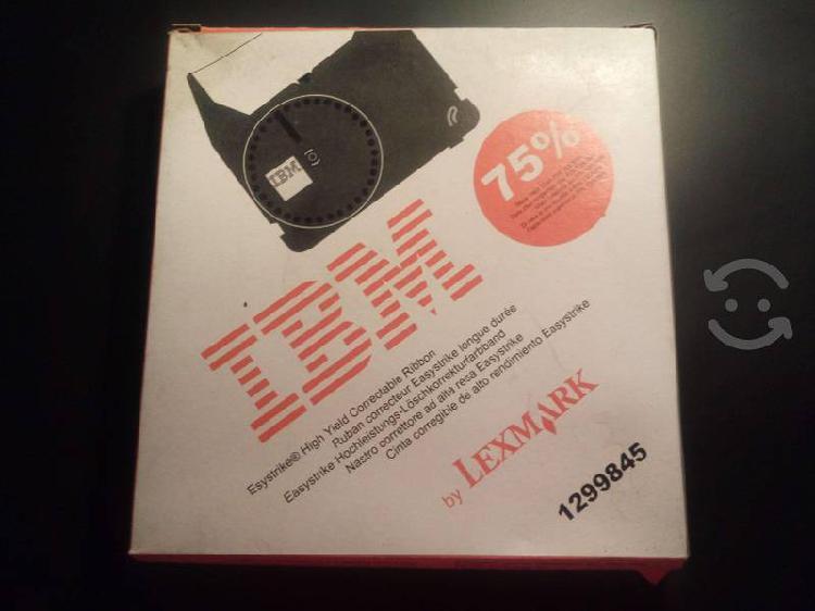 Cinta original para maquina de escribir ibm 2000