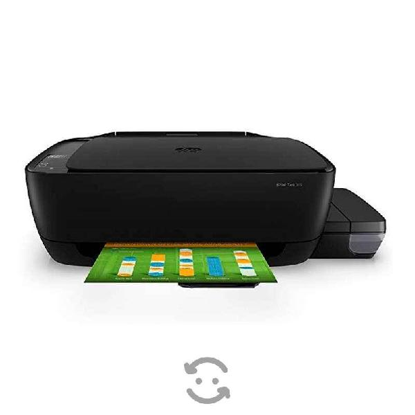 Hp inc hp ink tank 315 aio mf color sistema de tan