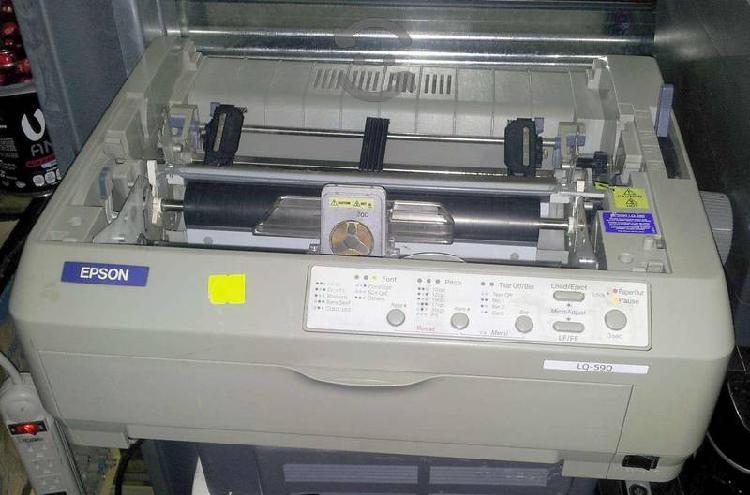 Impresora epson lq590 matricial de 24 agujas usb