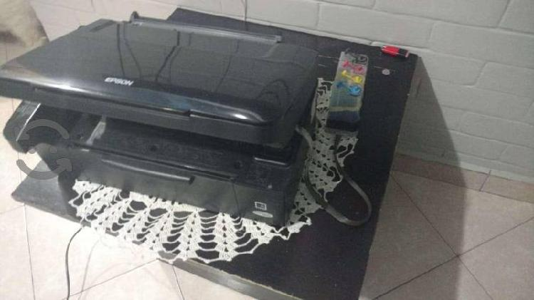 Impresora tx 110 con sistema de tinta continuo