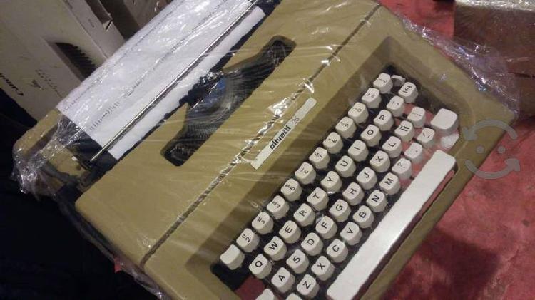 Maquinas de escribir olivetti lettera seminueva