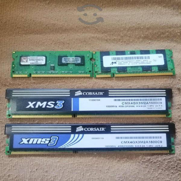 Memorias pc y laptop, procesador intel i5