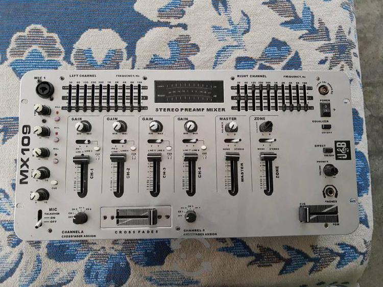 Mixer mezcladora profesional dj 4 canales