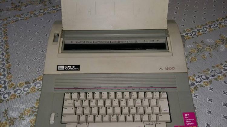 Máquina de escribir smith corona eléctrica