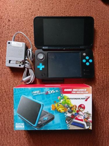 Nintendo 2ds xl + 2 juegos físicos.