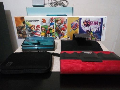 Nintendo 3ds aqua coleccion
