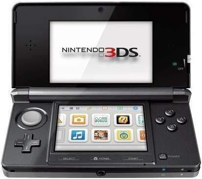 Nintendo 3ds versión negro