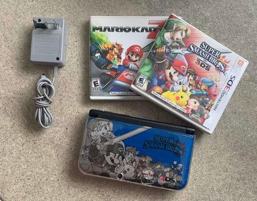 Nintendo 3dsxl edición especial súper smash bros