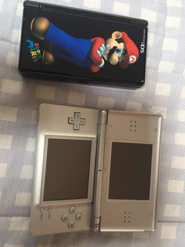 Nintendo ds lite con 8 juegos en perfecto estado,no cargador