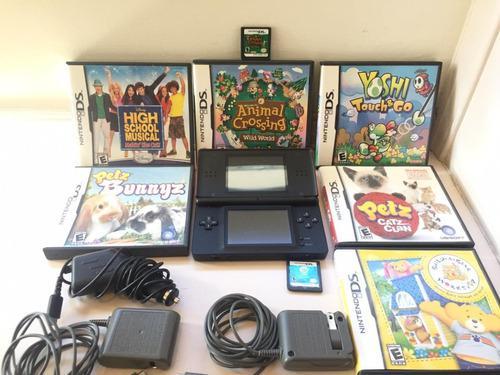 Nintendo ds lite (juegos incluidos)