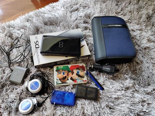 Nintendo ds lite (juegos y accesorios).