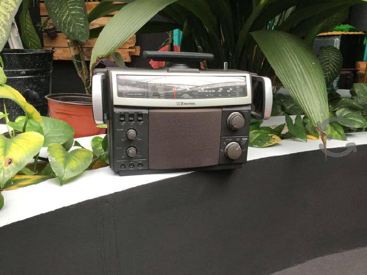 Radio de onda corta emerson mvr1 fm am audio