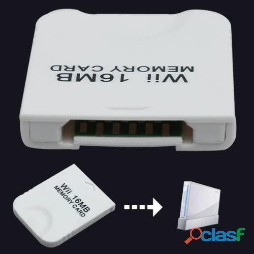 Memory card para gamecube nintendo wii 16mb