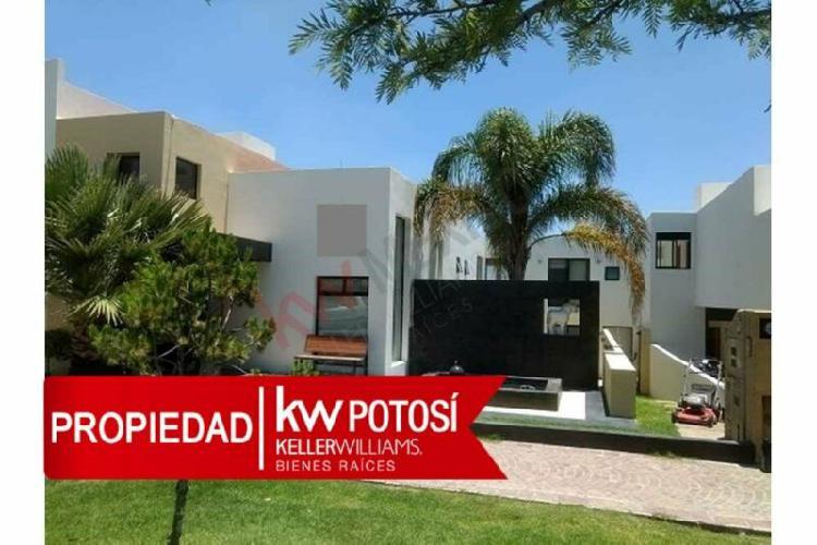 Casa en venta en pedregal i en san luis potosi, s.l.p.zona