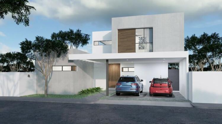 Casa nueva de lujo en venta en mirova modelo 6, dzitya,