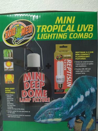 Combo Mini Tropical Uvb Lighting Zoomed