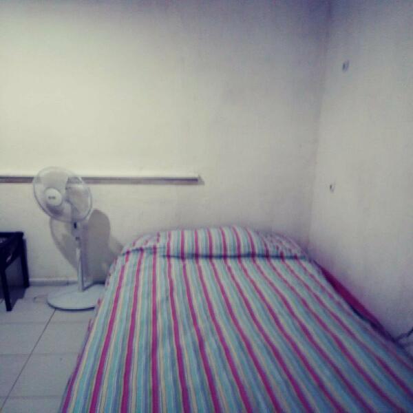 Habitaciones amuebladas con wifi todos servicios