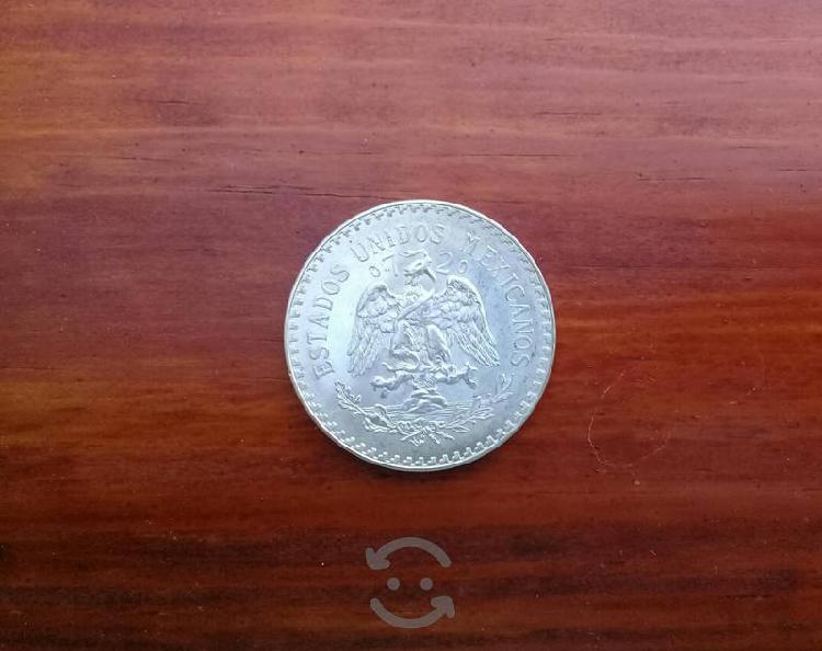 Moneda de 1 peso, de plata año 1933, 1938