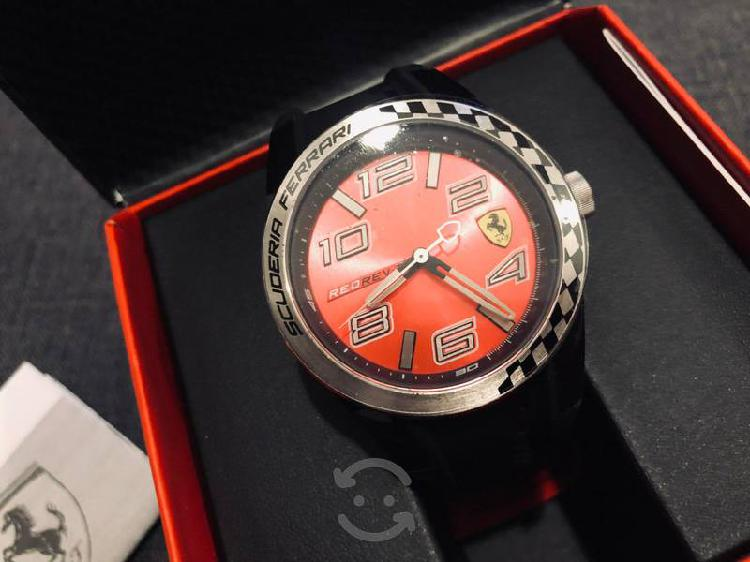 Reloj ferrari caballero color negro 0830335