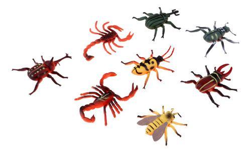 Simulación animal insectos naturales acción figura modelo