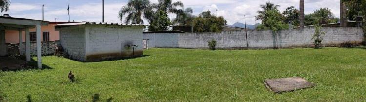 Terreno y casa en venta fortin, veracruz