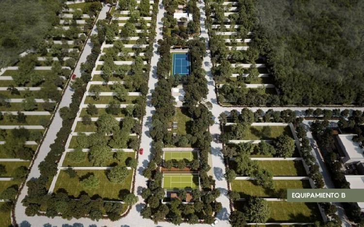 Terrenos en venta en privada al norte de merida - oliva