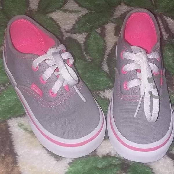 Vans originales tenis. zapatos niña