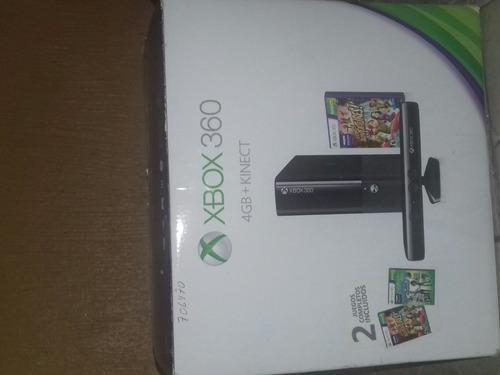 Xbox 360 con 10 juegos y kineck, sin fallas ni errores