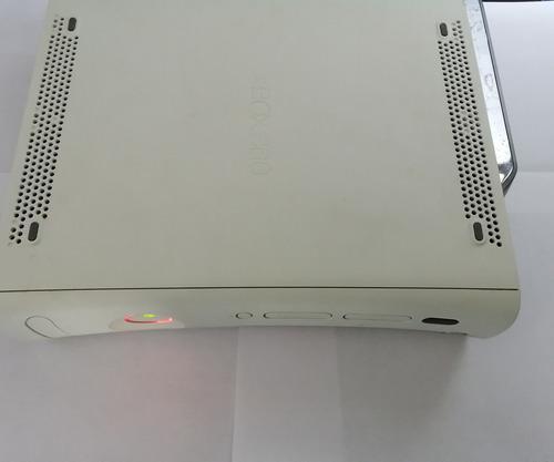 Xbox 360 luces rojas para reparar o refacciones + cables