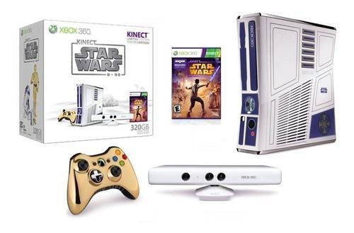Xbox 360 slim kinect star wars edition