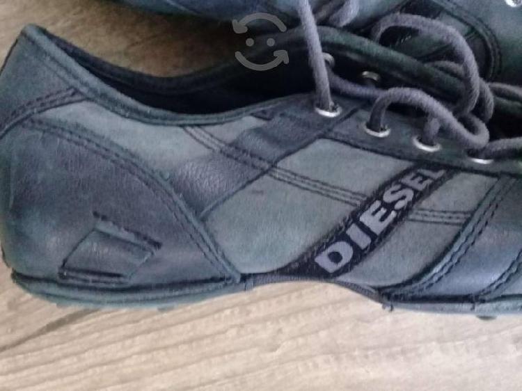 Zapatos diesel/piel/talla # 6.5 mx/v o c