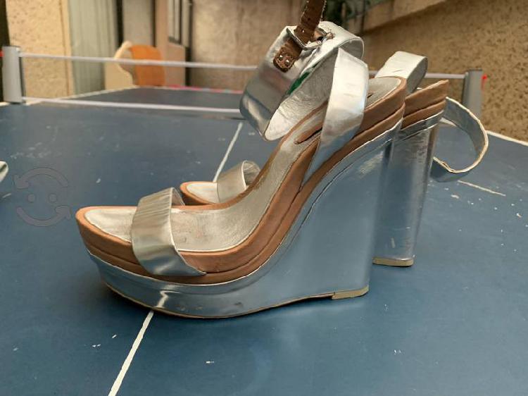 Zapatos plataforma usados