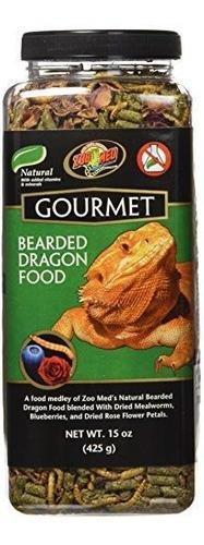 Zoo Med 5118 Gourmet Barbudo Dragon Food 15 Oz