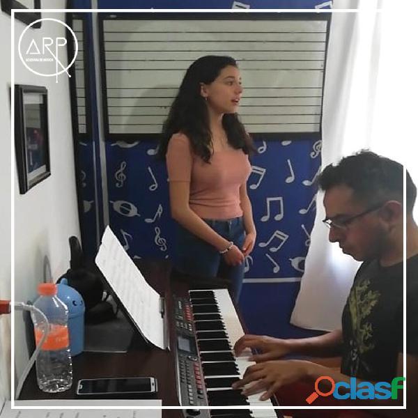 Academia de Música ARP. Guitarra, Batería, Piano, Canto, Bajo, Teclado. 4