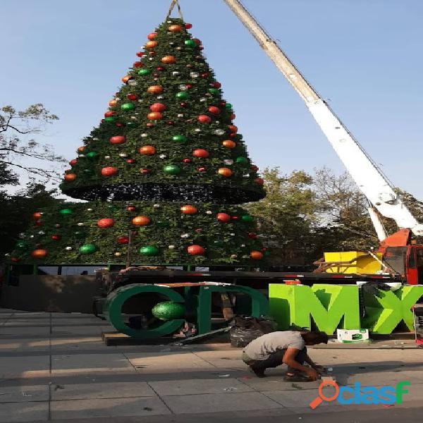 Arboles de Navidad Gigantes 14