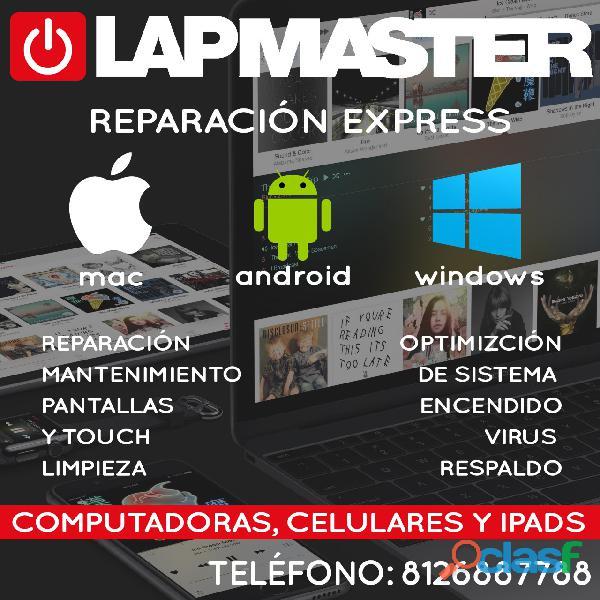 Reparación Laptops, Computadoras