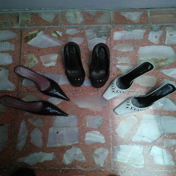 Zapatos #4.1/2 >3 pares usados