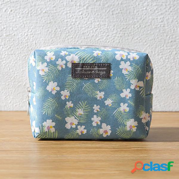 El almacenamiento cosmético lindo portátil bolsa compone el cuidado de piel bolsa 4 colores para la opción