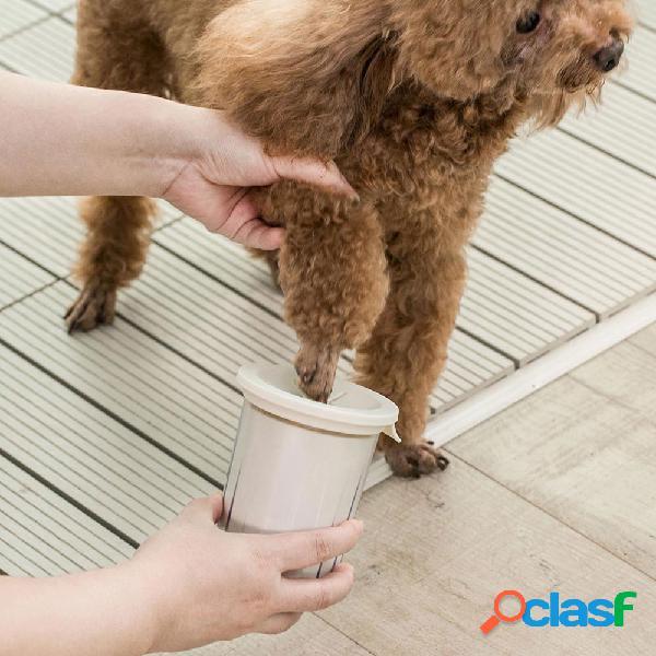 Jordan & judy jj-pe0015 limpieza de la taza para mascotas herramienta silicona claw cup millet excelente producto