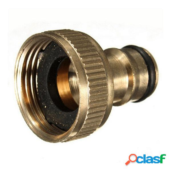 3/4 pulgadas de latón de rosca manguera de jardín de agua pulverizador accesorios grifo pipe quick connector