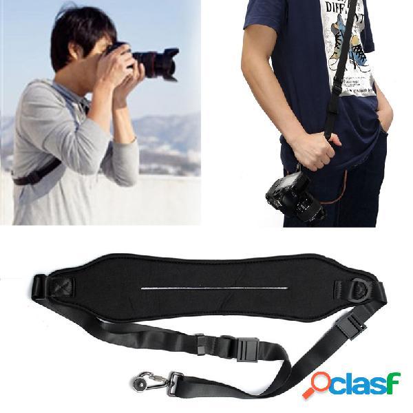 Cinturón de correa de cuello de hombro de cámara de nylon para canon nikon sony dslr