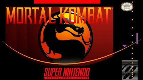 50 juegos de super nintendo nes para pc (mortal kombat)