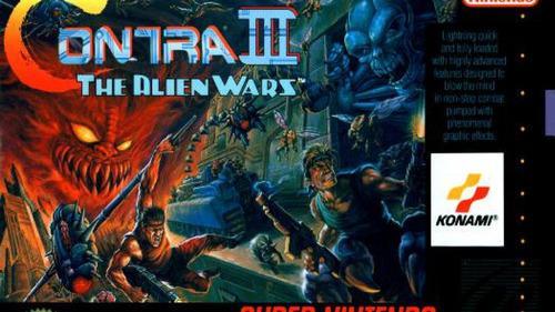 50 juegos de super nintendo snes-contra iii - the alien wars