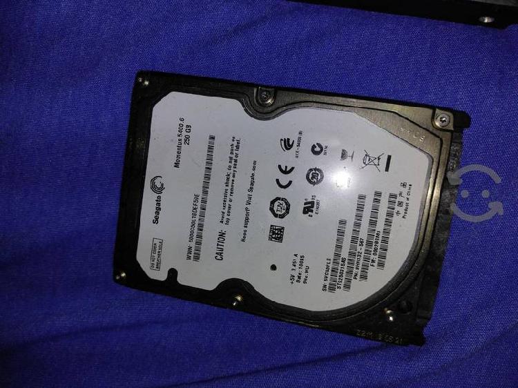 500gb y 250gb discos duros