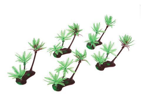 5piezas de coco y palmeras modelo de juguetes ho oo